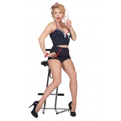 Rockabilly setje Pin-Up sailor