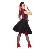 Rockabilly outfit dames kleding bloesje rokje