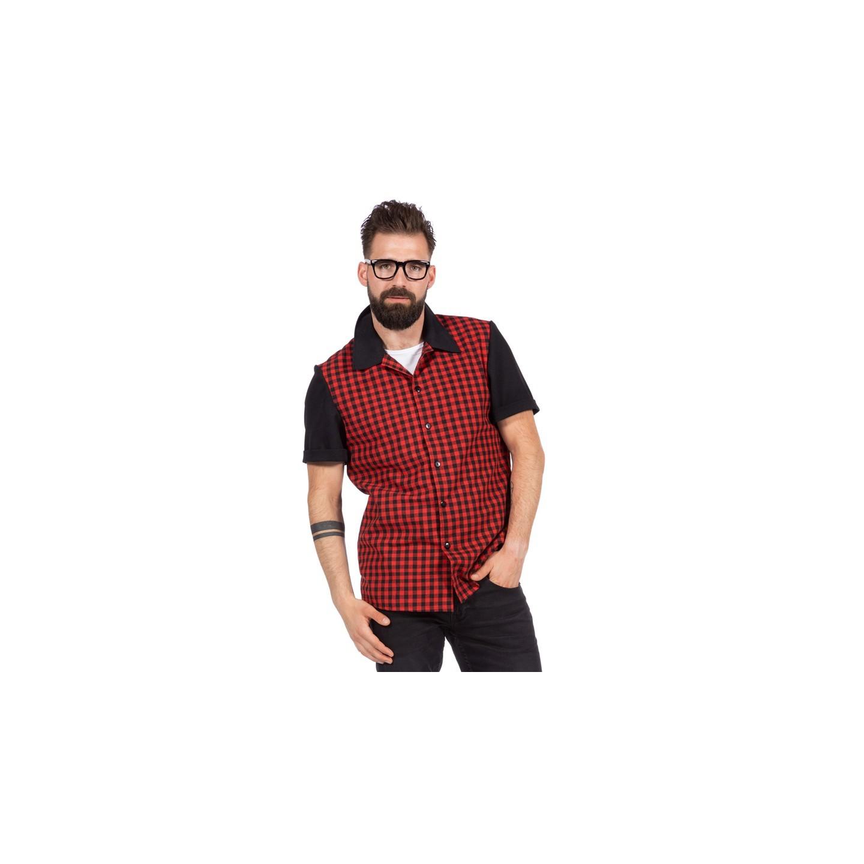 Rockabilly hemd heren shirt rock roll