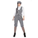 Jaren 20 Peaky Blinders kostuum dames Lizzie