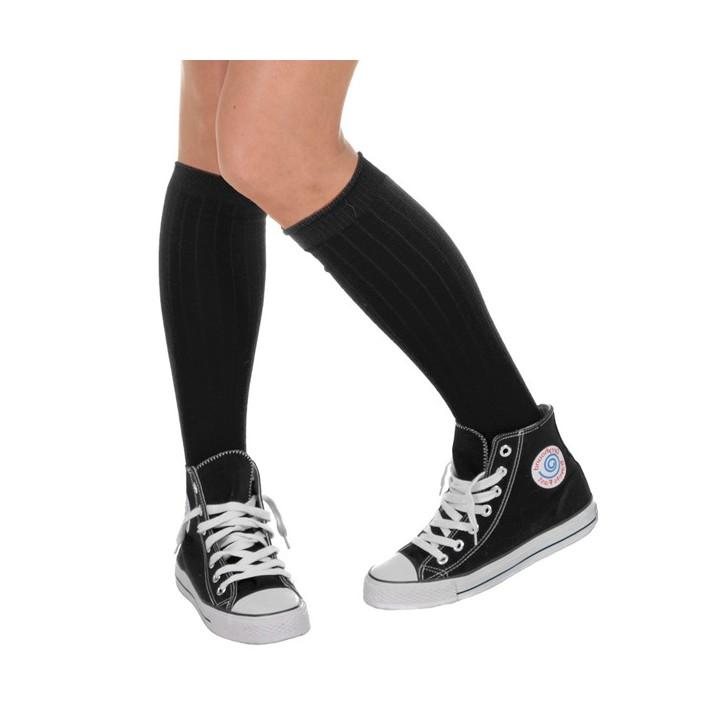Knie sokken zwart voor heren