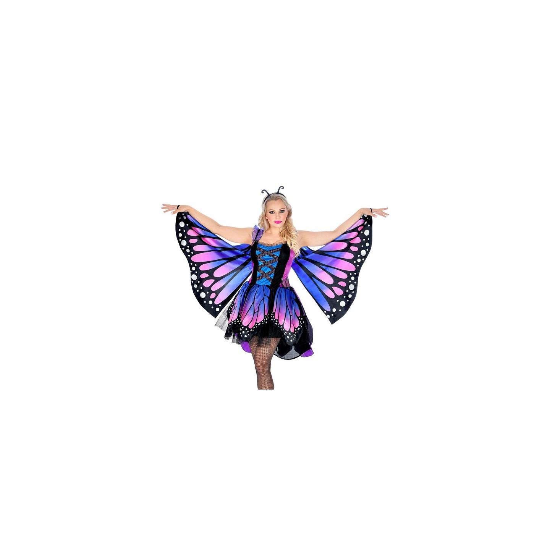 carnaval Vlinder kostuum volwassenen jurkje dames