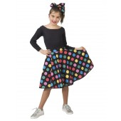 rock en roll rok kind verkleedkleding