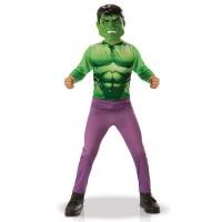 De Hulk kostuum voor kinderen