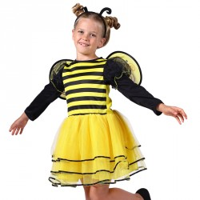 Bijen kostuum kind Maya + vleugels
