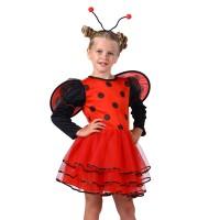 Lieveheersbeestje kostuum kind + vleugels