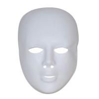 Wit masker plastic