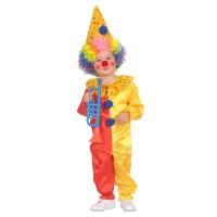 Clown kostuum peuter kleuter clownspakje