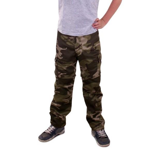 Ongebruikt Camouflage broek kind   Jokershop.be - Leger verkleedkleding AY-85