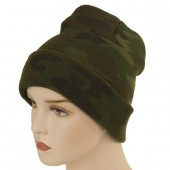 Leger muts camouflage beanie