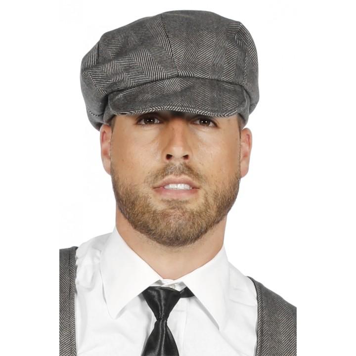 Peaky Blinders pet grijs jaren 20 cap