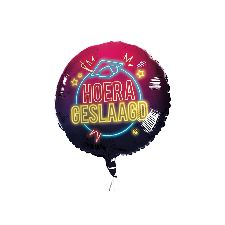 folie ballon geslaagd versiering feestartikelen