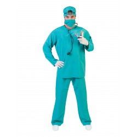 chirurg kostuum heren verkleedkleding dokter carnaval