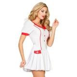 verpleegster pakje dames carnaval kostuum verkleedkleding