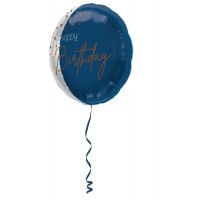 verjaardag folieballon happy birthday versiering