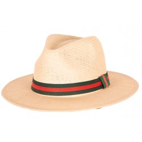Borsalino strohoed naturel zomerhoedje