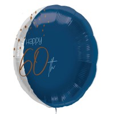 verjaardag folieballon 60 jaar versiering