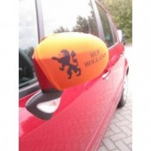 "Autospiegelcovers oranje ""Hup Holland"""