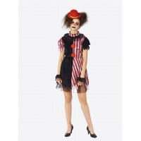 Killer horror clown jurk halloween kleding