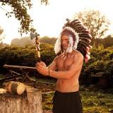 indianenbijl tomahawk indianen accessoires carnaval