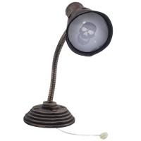 Halloween decoratie bureaulamp met licht en geluid
