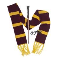 Harry Potter verkleedset toverstaf bril sjaal