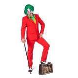 The Joker kostuum rood heren maatpak halloween