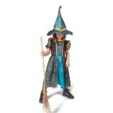 Spinnenweb heksen jurk kind Halloween kostuum pakje