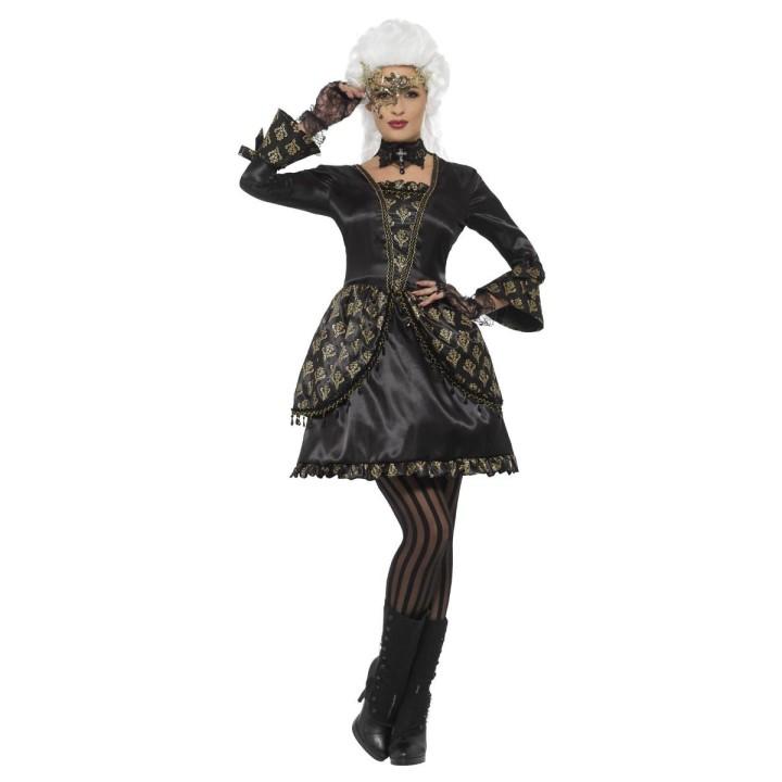 Venetiaanse Luxe masquerade jurk dames