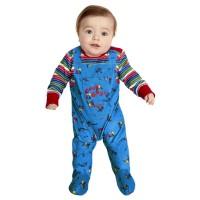 Chucky® kostuum baby Halloween pak