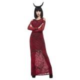 Duivel carnaval halloween kostuum dames