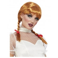 halloween killer doll pruik ros annabelle