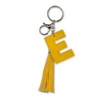 Tassel sleutelhanger letter E