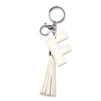 Tassel sleutelhanger letter F