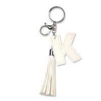 Tassel sleutelhanger letter K