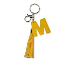 Tassel sleutelhanger letter M