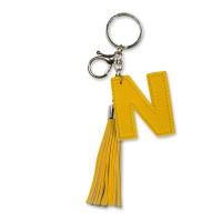 Tassel sleutelhanger letter N