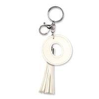 Tassel sleutelhanger letter O