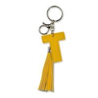 Tassel sleutelhanger letter T