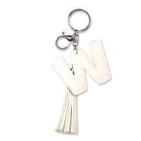 Tassel sleutelhanger letter W