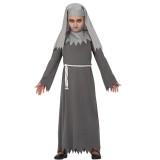 zombie non kostuum halloween nonnen kleed kind