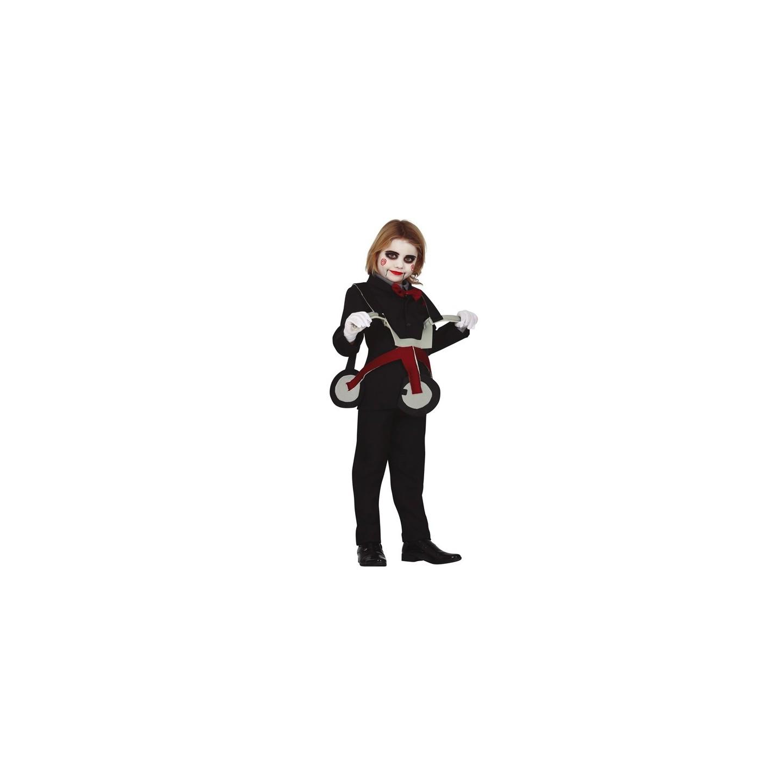 Saw Jigsaw driewieler kostuum halloween kind