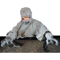 bewegende halloween decoratie zombie mummie geluid