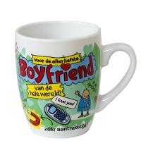 Cadeau mok cartoon boyfriend