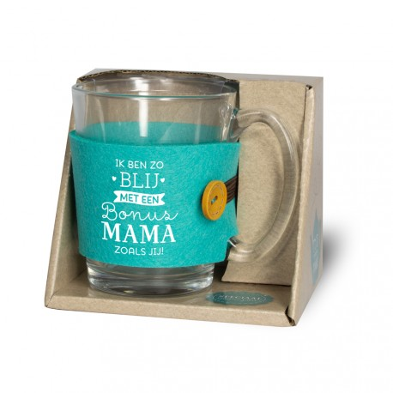 moederdag cadeau mok theeglas Mama