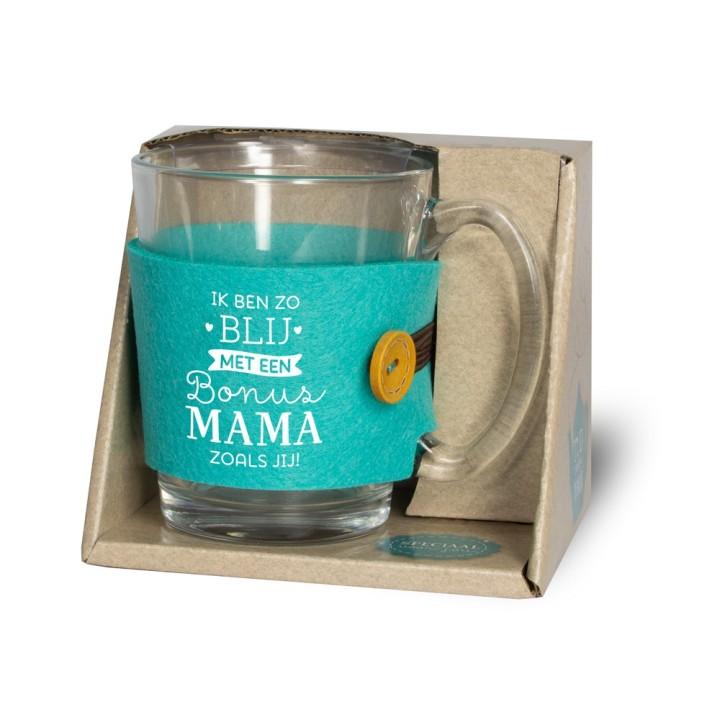Tijd voor thee - Theeglas Bonus mama