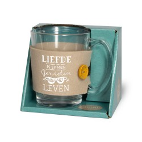 Tijd voor thee-Theeglas Liefde is