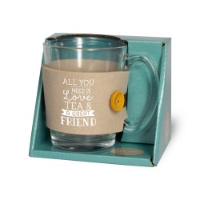 Tijd voor thee - Theeglas Friends