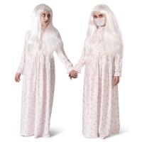 Grootmoeder (zombie) nachtkleed kind