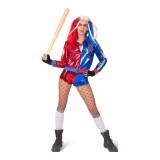 harley quinn kostuum volwassenen dames carnaval